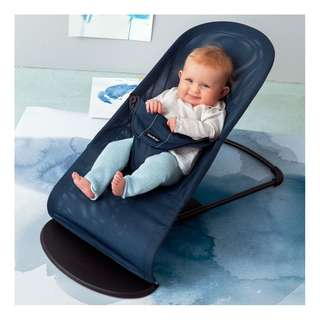iBaby Rocker Bouncer Born Toddler Music Chair with Safety Belt