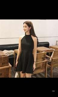 BN Black Halter Dress