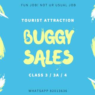 ∷ TEMP BUGGY DRIVER (SELL SOUVENIRS ON THE GO) ∷ 3 MONTHS ∷ MASS HIRING! ∷ URGENT