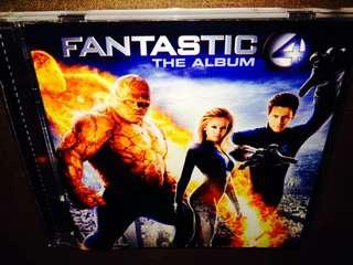 Fantastic 4 The Album CD