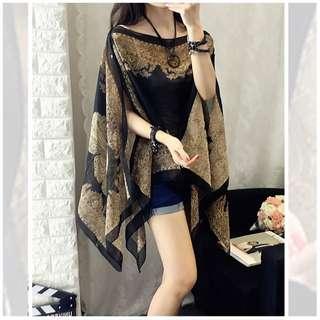 Batik Silk Travel Women Dress