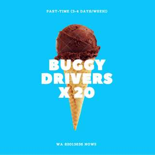 ☀☀☀☀[$8.50/HR ☀ BUGGY DRIVERS ☀ IMM TO 3 MTHS ]☀☀☀☀