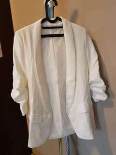 Brand new - blazer putih