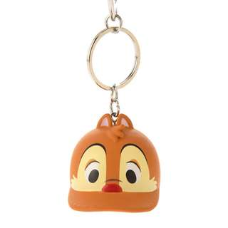 日本 Disney Store 直送 Chip n Dale 鋼牙大鼻鴨咀帽 / Cap 帽造型水樽蓋匙扣 - Dale 大鼻款