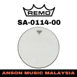 Remo SA-0114-00 14'' Ambassador Hazy Snare Drum Head