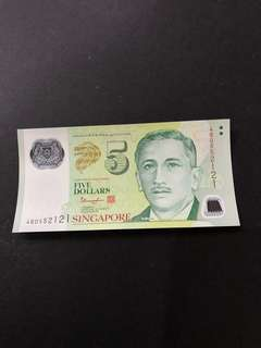 $5 note