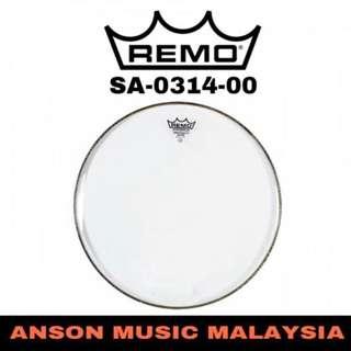Remo SA-0314-00 14'' Ambassador Clear Snare Drum Head