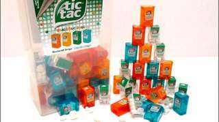 Mini Tic Tac ( limited edition mini tictac )