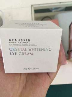 BEAUSKIN CRYSTAL WHITENING EYE CREAM