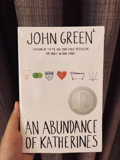 JOHN GREEN AN ABUNDANCE OF KATHERINES