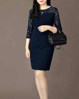 MAY 18 LACE LONGSLEEVE DRESS (DDSY)