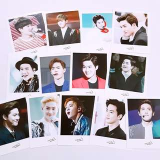 EXO Suho Partynoodle522 fansite poloroid photocard 13pcs