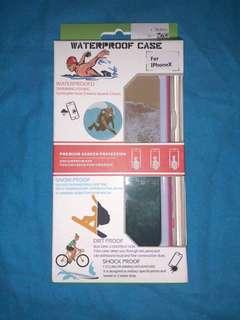 Iphone X waterproof case (pink)