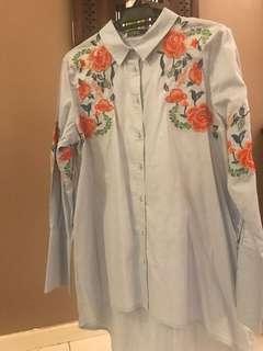 Pretty Embroidery Zara Shirt