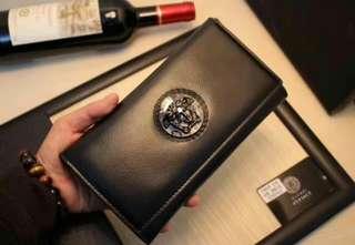 意大利正品prada普拉达男士经典钱包手拿包拉链款十字纹2ML188