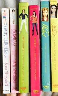 FIRST 3 BOOKS of The Pretty Little Liars Series