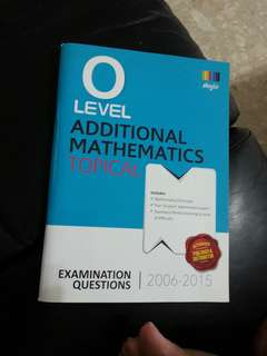 O level additional mathematics topical