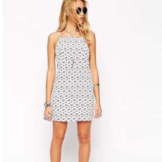 (RTP $52) BNWT ASOS petite bandana print mini dress