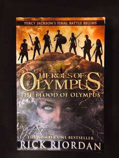 Heroes of Olympus - The Blood of Olympus RICK RIORDAN