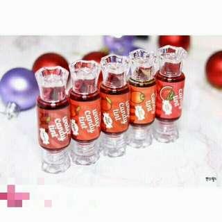 Candy Taste Fruity Lip Tint Waterproof Moisturizer Lip Gloss