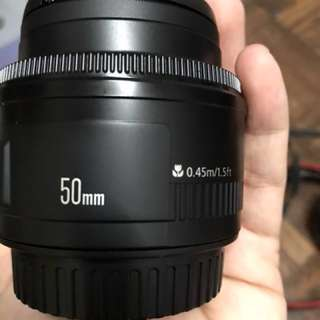 Canon 1000D (USED) with EF50MM F/1.8 lense (COD)