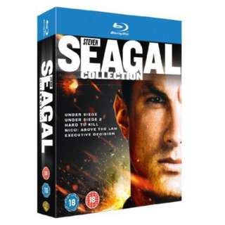 The Steven Seagal Collection 5 Movie Blu-ray