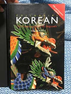 Colloquial Korean: the complete course for beginners (book and cd and cassette)
