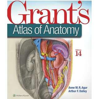 Grant_s Atlas of Anatomy 14th Edition