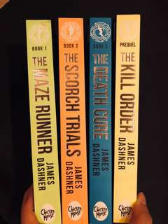 FULL COLLECTION MAZE RUNNER SERIES