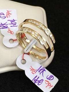 18k  Couple Ring