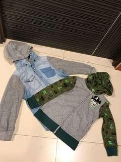 H&M Boys Jackets 2 Pcs $40