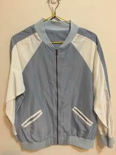 🚚 防曬棒球外套#水藍色
