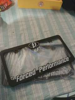 Force performance no plate holder