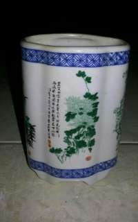 Keramik Unik Vintages Pohon Bambu & Bunga Made in China