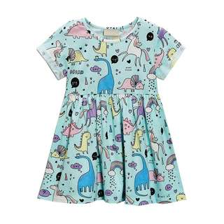 Girl Dress Unicorn Casual