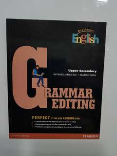 Free Grammar Editing Upper Secondary Pearson