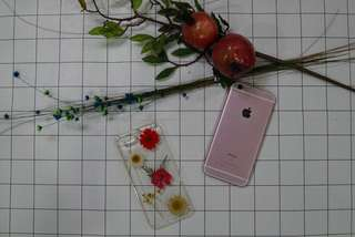"""IPHONE 6/6s 4.7"""" 乾花手機殼"""