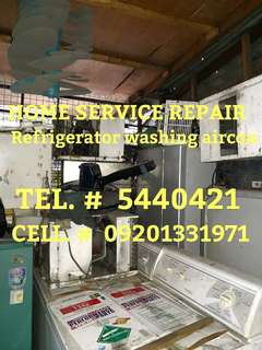 Home service repair Refrigerator aircon washing machine