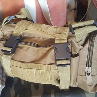 Tactical Army camping pouch sling bag