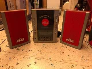 可口可樂音響組合-收音機、CD機