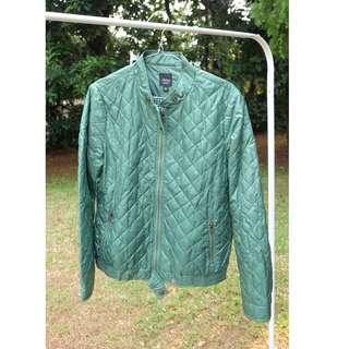 green jaket