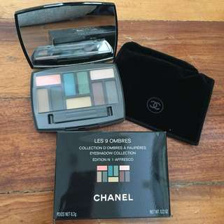 Chanel Les 9 Ombres Eyeshadow Collection
