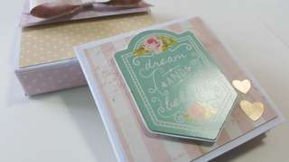 Mini flipbook album (come with box)
