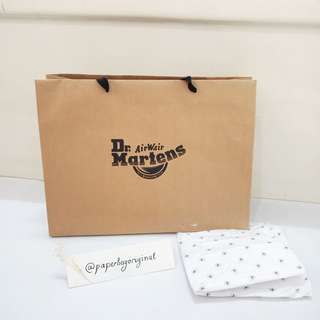 Dr Martens Paperbag Original Doc Mart paper bag