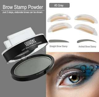lazy seal eyebrow powder set