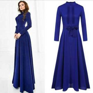 Dress blue colour