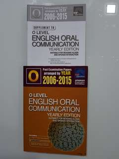 O Level English Oral Communication with Solution