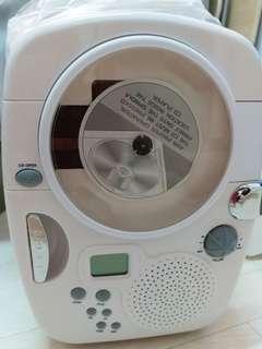全新迷你雪櫃+CD機