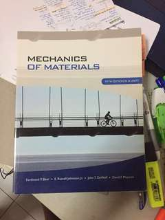 Mechanics of Materials MA2001