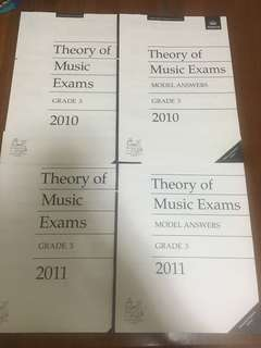 ABRSM Grade 3 papers and model answers